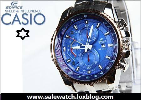 ساعت پسرانه کاسیو مدل EF 558