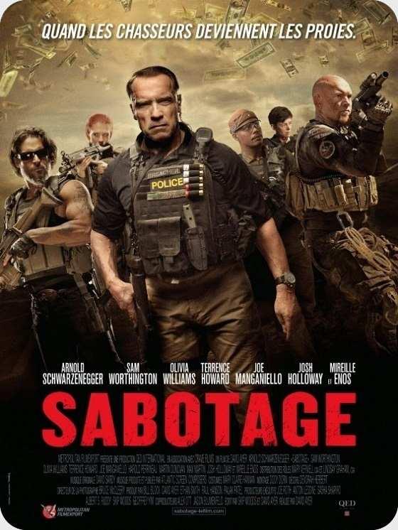 فیلم Sabotage 2014