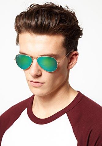 عینک شیشه سبز ریبن