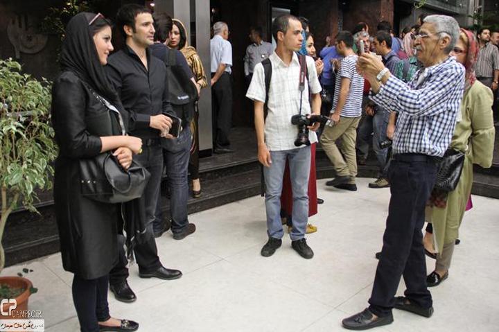عکس های محمد رضا فروتن در اکران خصوصی فیلم سینمایی تجریش ناتمام
