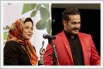 مهراوه شریفی نیا و میلاد کی مرام در جشن حافظ