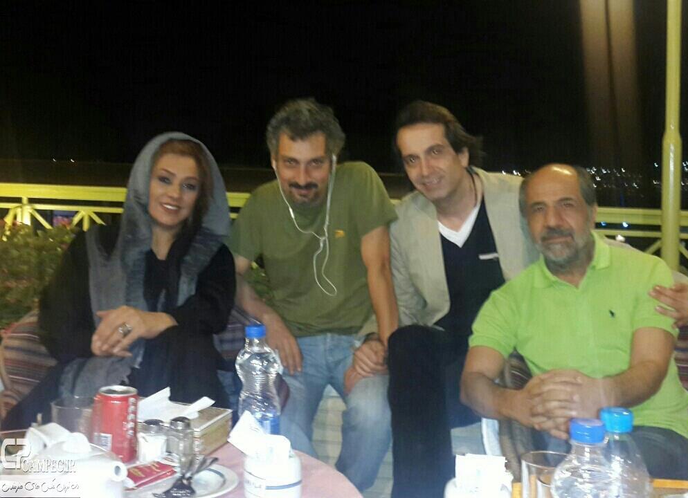 قاسم زارع،رامسین کبریتی،ارژنگ امیر فضلی و نسرین مقانلو