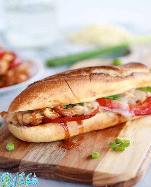 ساندویچ-عکس-تصویر-غذا-چاقی-لاغری-درمان-رژیم-غذایی