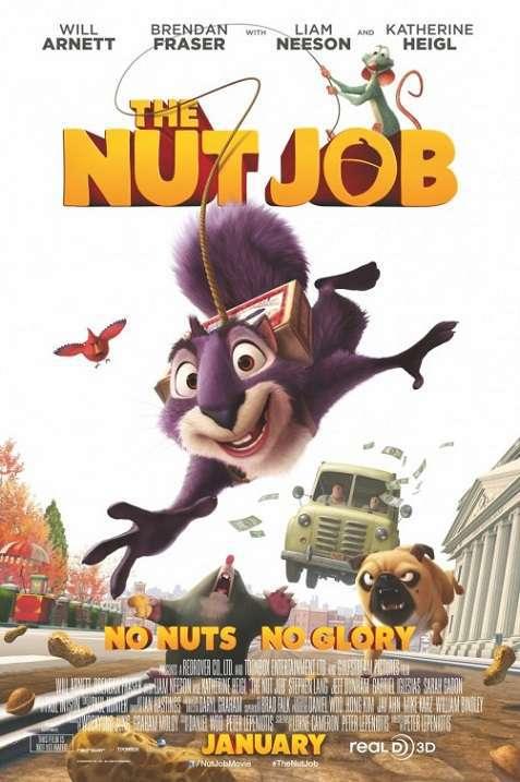 دانلود انیمیشن The Nut Job آجیل دزدی