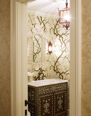 کاغذ دیواری حمام1