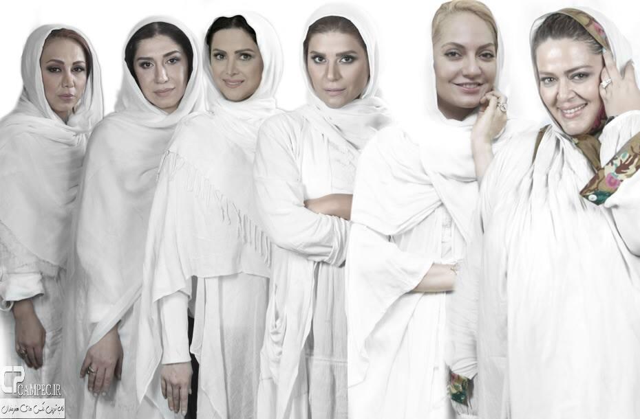 بهاره رهنما و سایر بازیگران در نمایش زنان شکسپیر