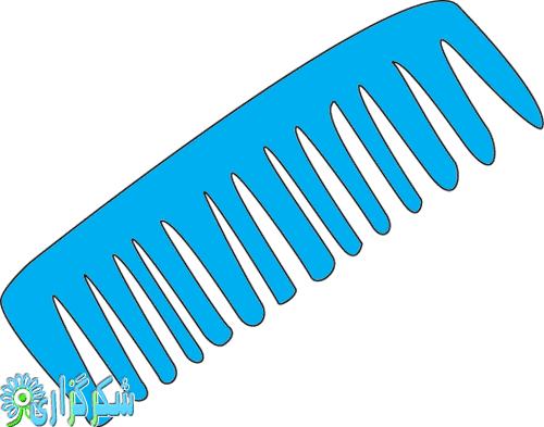 موخوره-عکس-تصویر-شانه-شونه-کلیپ-آرت-تقویت-مو-ریزش-مو