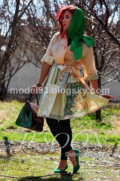 مدل مانتو تابستانه دخترانه