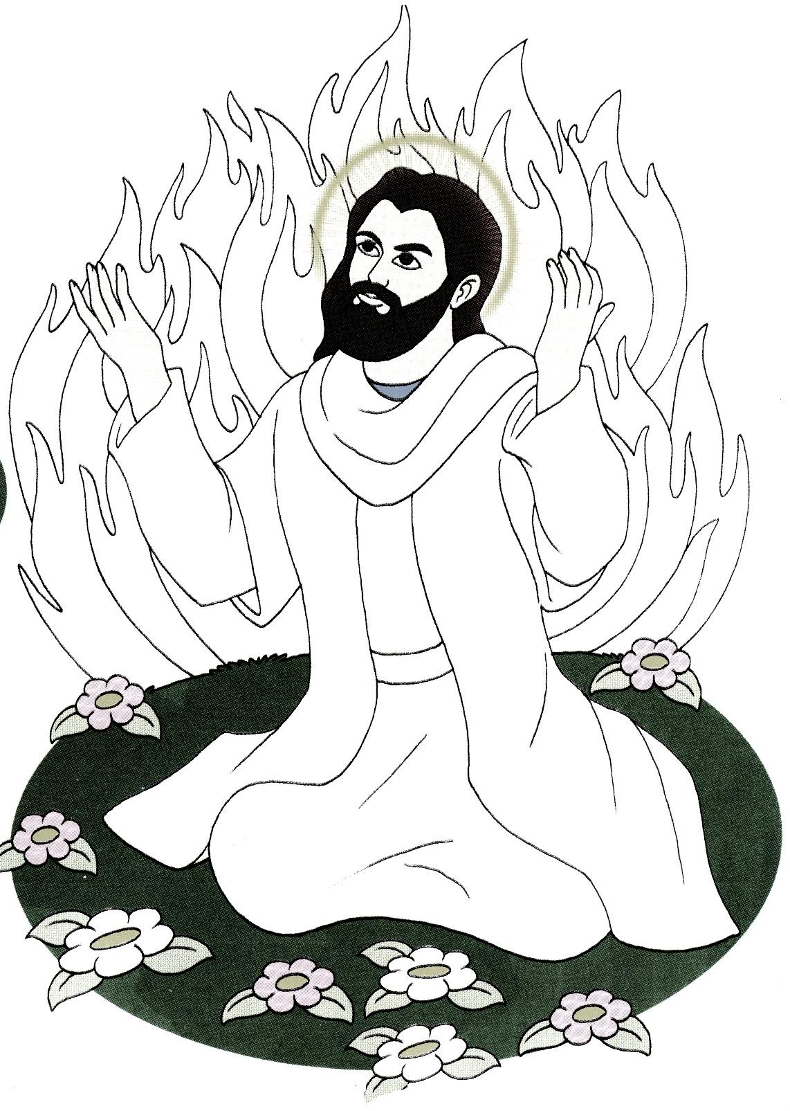 رنگ آمیزی داستان حضرت ابراهیم ع