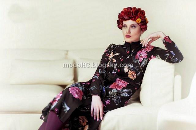 مدل مانتو تابستانی با پارچه گلدار