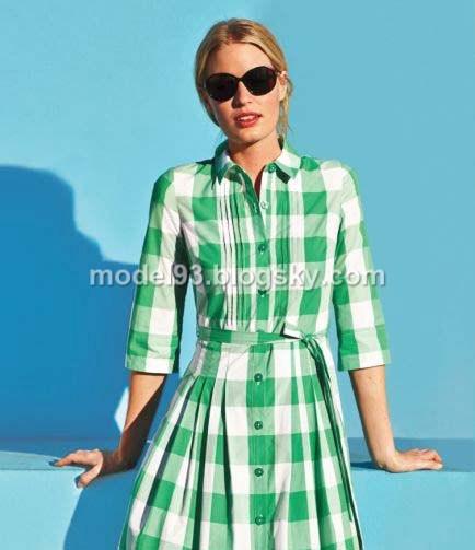 مدل مانتو تابستانی چهارخونه