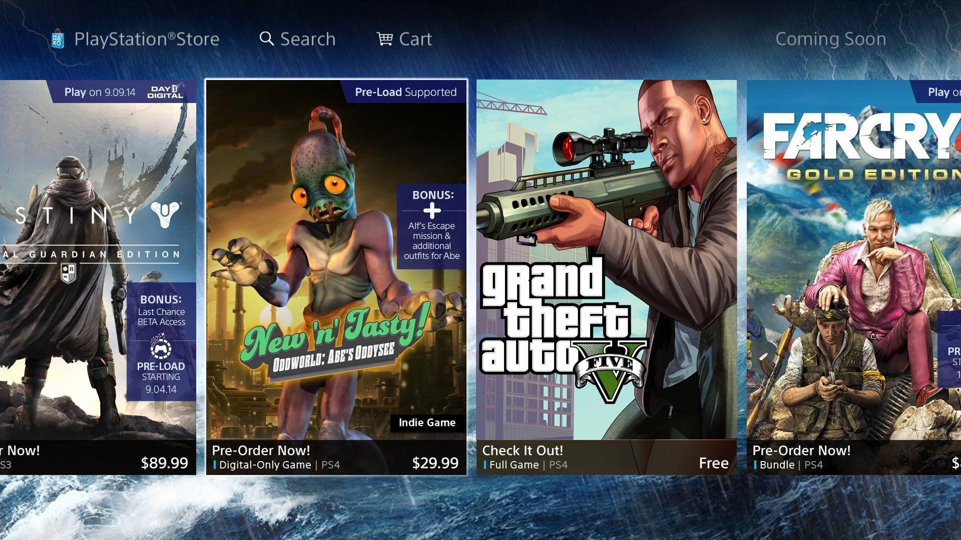 قیمت بازی های ps4 به دلار