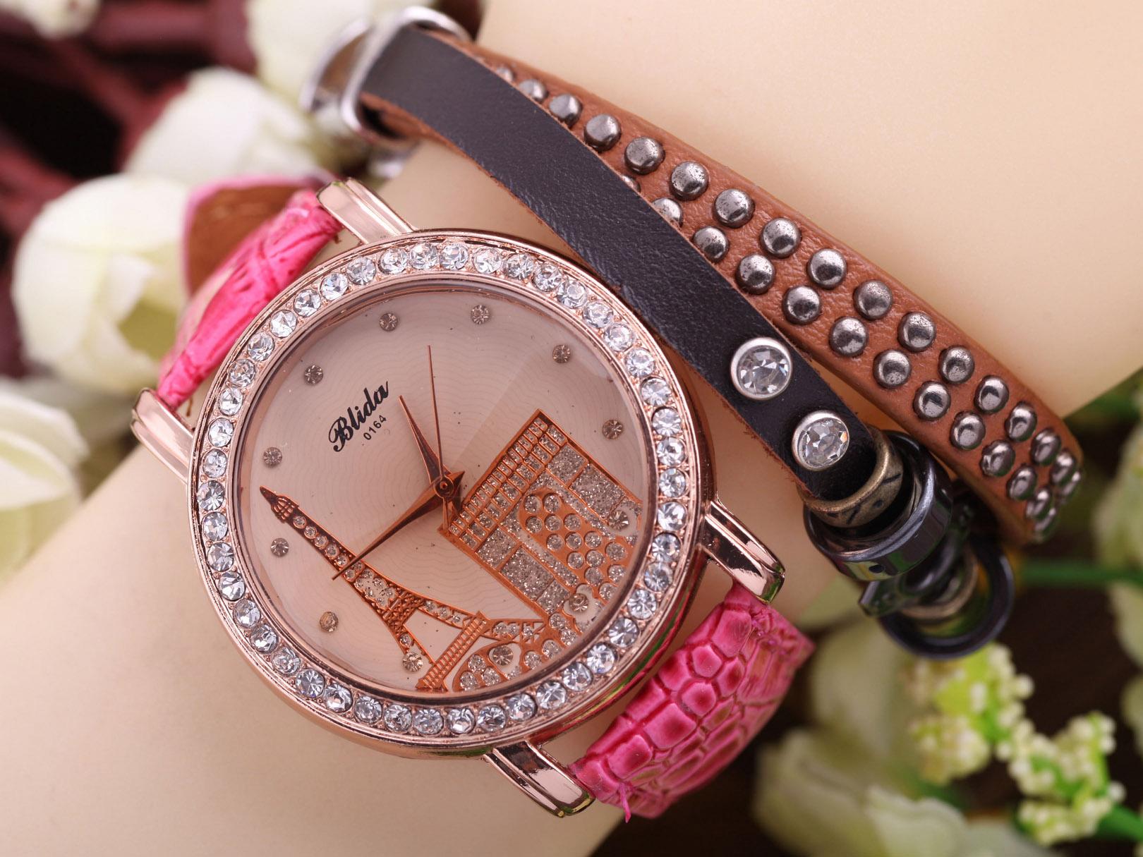 ساعت دخترانه مدل دستبندی