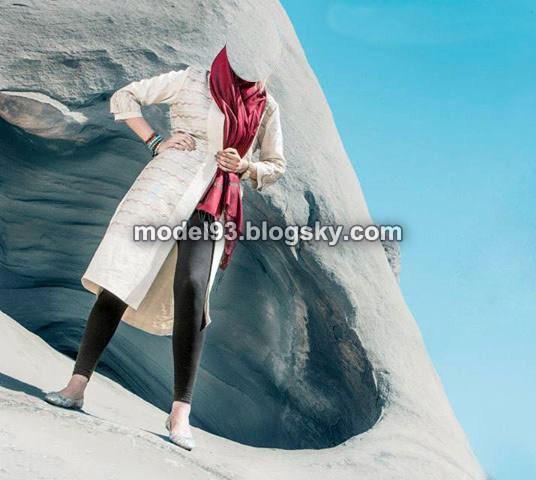 مدل مانتو طرح دار تابستانی 93