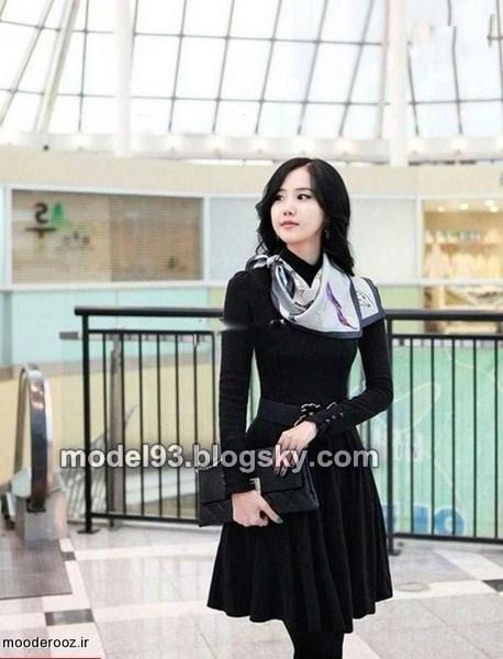 مدل مانتو کره ای