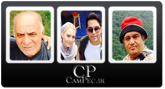 عکس های بازیگران فیلم «شانس،عشق،تصادف» در پشت صحنه فیلم