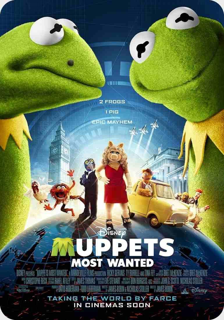 فیلم Muppets Most Wanted 2014