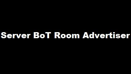 Bot Server Room Advertiser-سرور بوت تبلیغ روم نیمباز