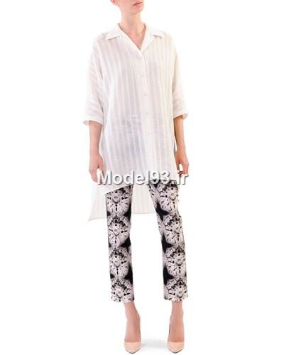 مدل لباس تونیک شلوار