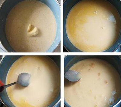 دسر: طرز تهیه فرنی پرتقالی دسر ماه رمضان