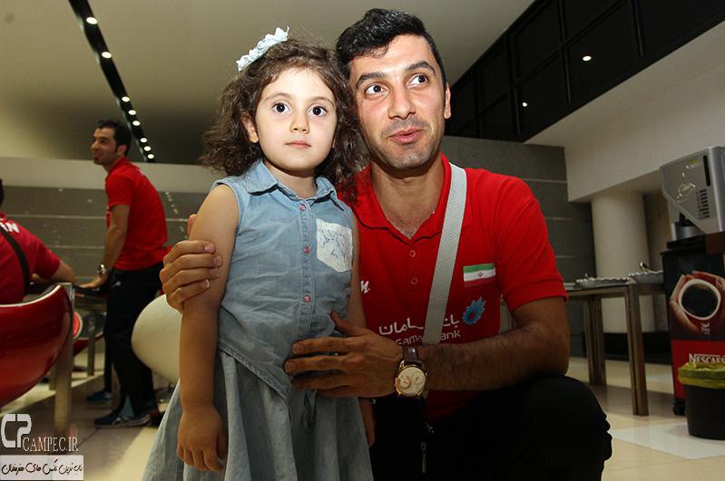 فرهاد ظریف و دخترش