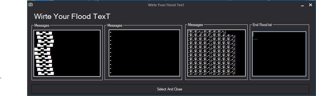 Gof Of Room Flooder V1.0 [ Add Flood + Pv Flood + Room Flood + AnTi Ip Ban ] Trial Version God_txt