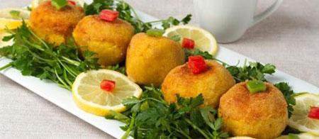 آشپزی: دلمه قارچ با مرغ و سیب زمینی