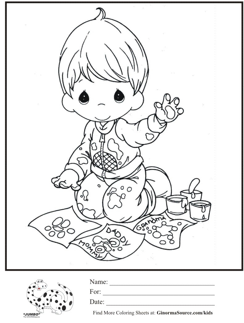 cowboy precious moments coloring pages photo21