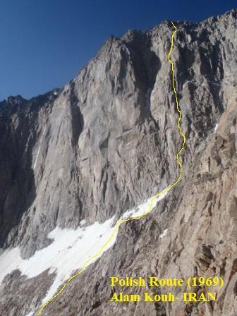 دیواره علم کوه- مسیر 48