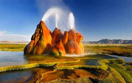 گردشگري: عجیب ترین آب گرم دنیا در آمریکا!