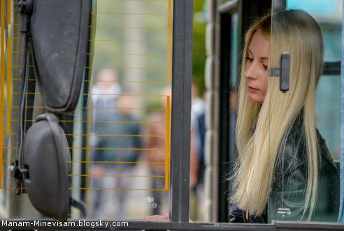 راننده های اتوبوس در کشور بلاروس