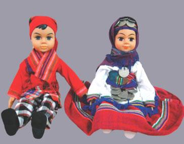 عکس عروسک دارا و سارا