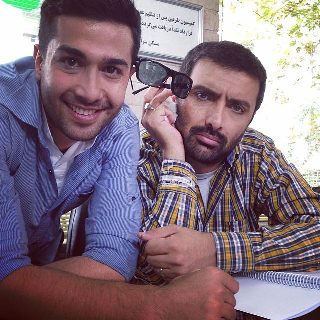 امین زندگانی و حسین مهری