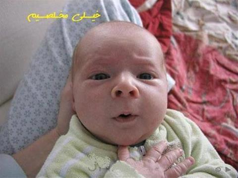 عکس بچه باحال و خنده دار