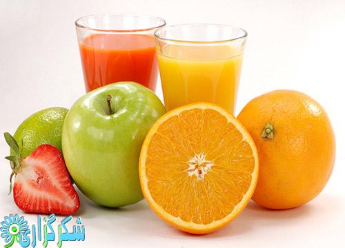 آب-میوه-مضرات-معایب-عکس-تصویر-توت-فرنگی
