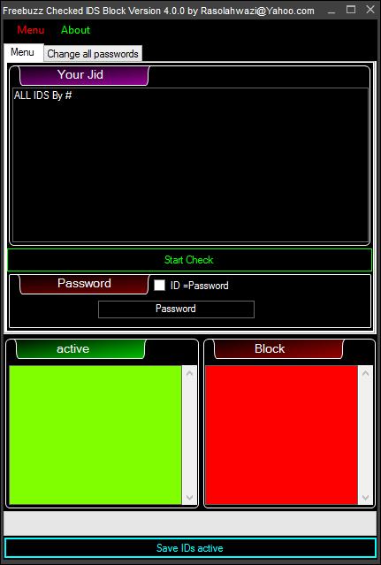 Freebuzz TeaM ID Checker Version 4.0.0 Update 2413243254325425