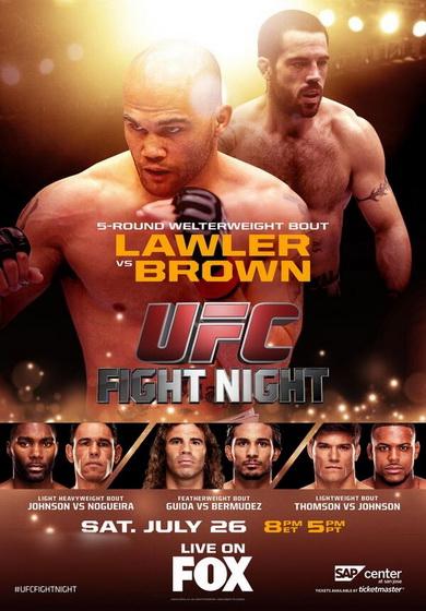 دانلود یو اف سی در فاکس 12 | UFC on Fox 12 : Lawler vs. Brown