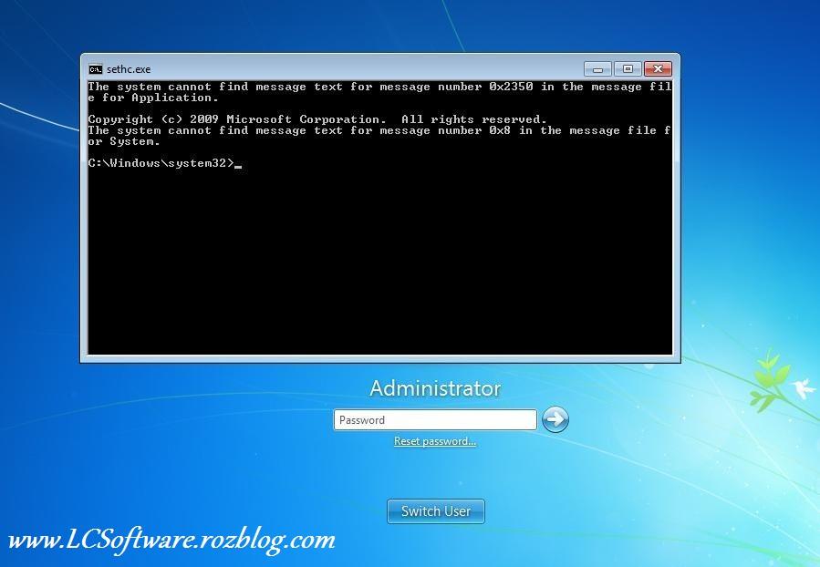 باز کردن پسور (رمز) کامپیوتر در کمتر از 3 دقیقه