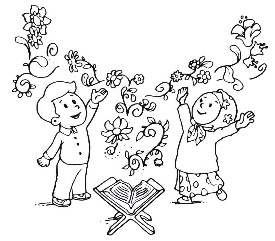 طرح کودکانه برای قرآن خواندن