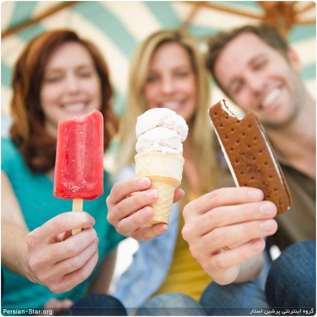 تغذیه: بستنی و نکاتی در مورد این خوشمزه تابستانی