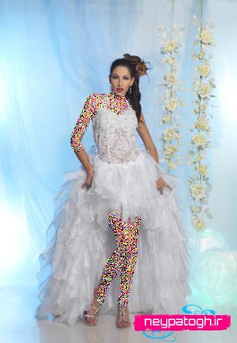 مدل لباس عروس جدید سری (1)