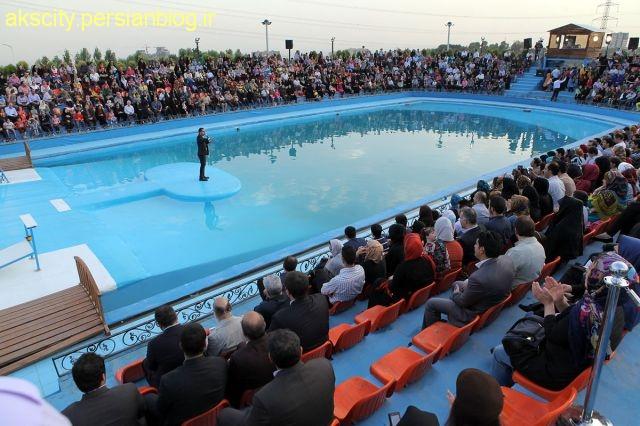 پارک دلفین های برج میلاد