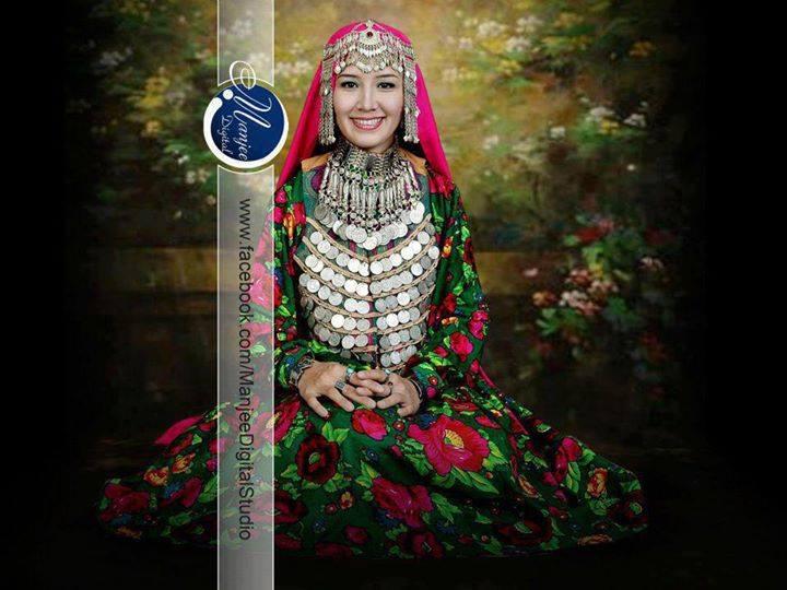 زیباترین دختر افغان