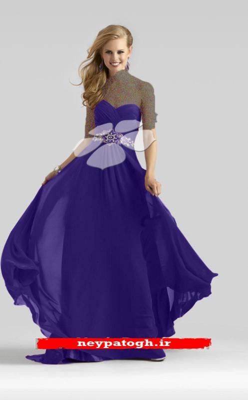 مدلهای جدید لباس شب بلند سری (1)