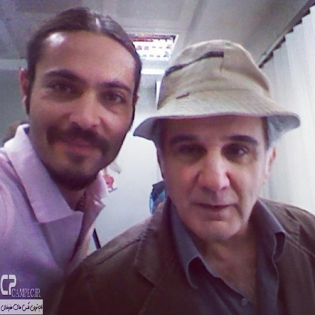 مهدی هاشمی در پشت صحنه مجموعه دردسر های عظیم