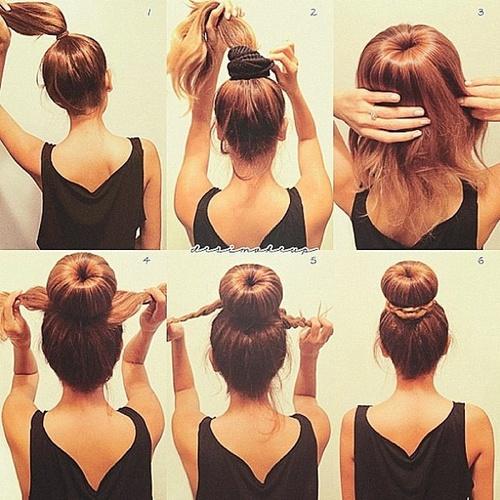آموزش بستن مو با کش موی هات بانز
