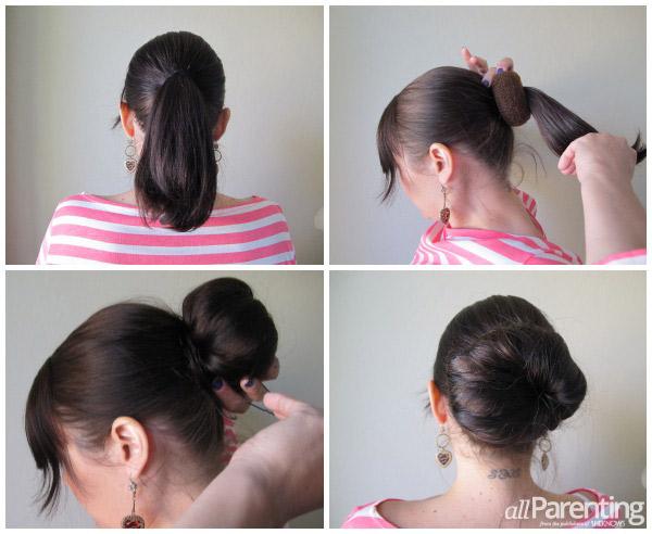 روش بستن کش موی هات بانز