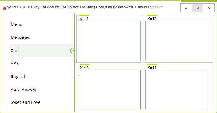 Source C # Full Spy Bot And Pv Bot Source For {sale} Coded By Rasolahwazi Mast3