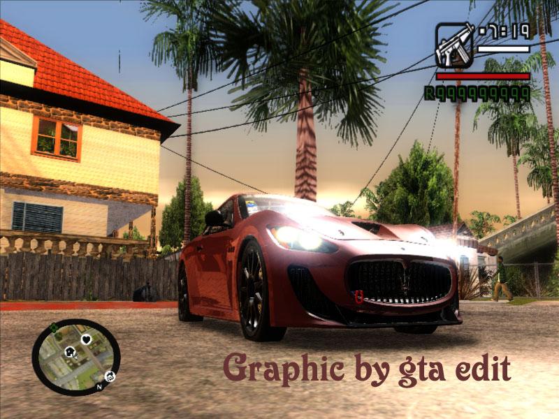 گرافیک جدید برای gta sa  (ساخت گروه gta edit)