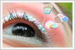 تصاویر جالب از آرایش مژه